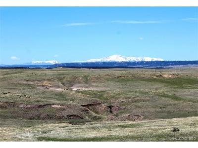 Calhan CO Residential Lots & Land Active: $1,540,000