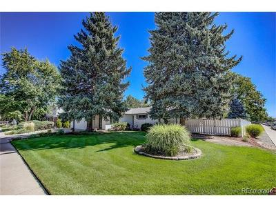 Denver Single Family Home Active: 3480 South Dayton Street
