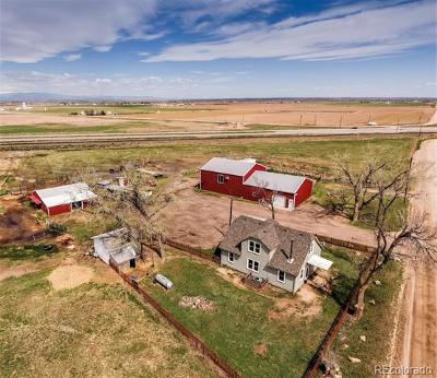 Platteville Single Family Home Under Contract: 18331 County Road 29