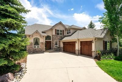 Castle Pines Single Family Home Under Contract: 1082 Timbercrest Drive