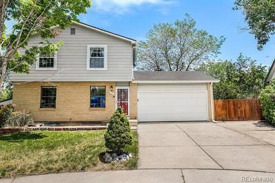 Aurora Single Family Home Active: 4784 South Olathe Way