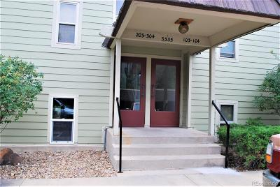 Boulder Condo/Townhouse Under Contract: 3335 Chisholm Trail #D103
