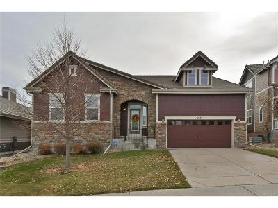 Castle Rock Single Family Home Active: 4522 Dusty Pine Trail