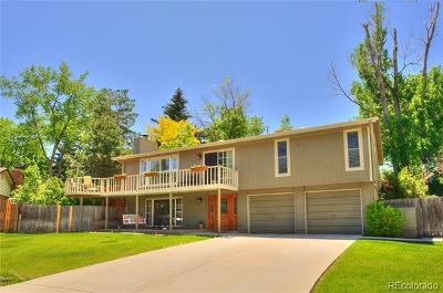 Arvada Single Family Home Active: 6832 Wright Court