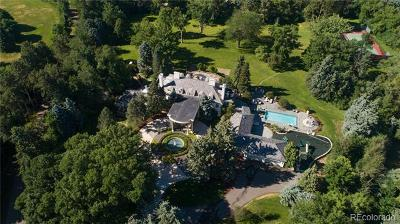 Cherry Hills Village CO Single Family Home Active: $11,900,000