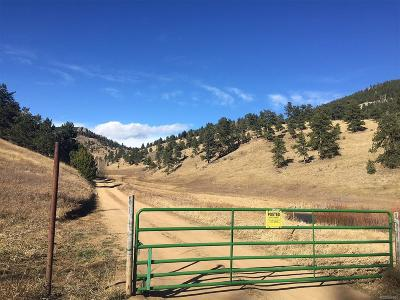 Golden Residential Lots & Land Under Contract: Golden Gate Canyon Road