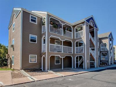 Castle Rock CO Condo/Townhouse Under Contract: $165,000