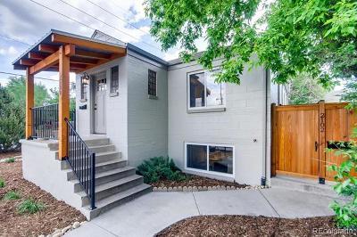 Denver Single Family Home Active: 2100 South Sherman Street