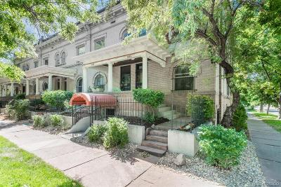 Denver Condo/Townhouse Active: 1583 North Ogden Street