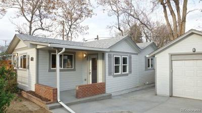 Wheat Ridge Single Family Home Under Contract: 2918 Ames Street