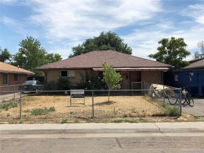 Commerce City Single Family Home Under Contract: 7020 Cherry Street
