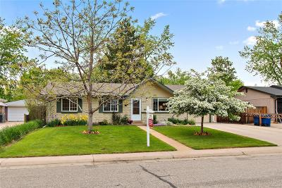 Arvada Single Family Home Under Contract: 6055 Garland Street
