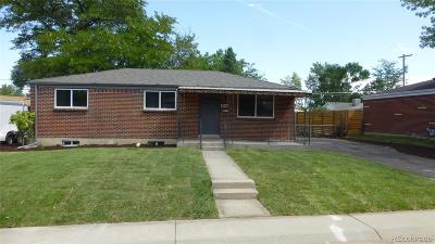 Westminster Single Family Home Active: 8840 Ithaca Way