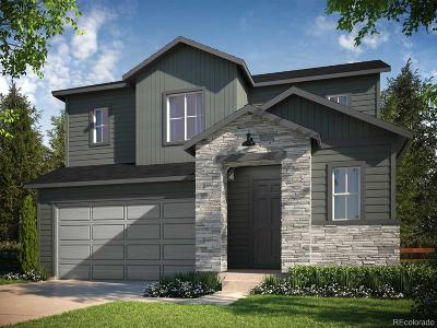 Castle Rock CO Single Family Home Active: $424,900