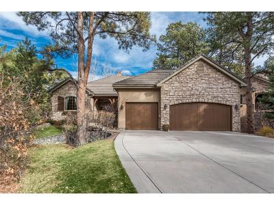 Castle Pines Village, Castle Pines Villages Single Family Home Under Contract: 5275 Red Pass Court