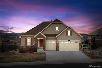 Castle Rock Single Family Home Active: 3655 Eveningglow Way