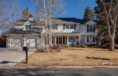 Cherry Hills Village Single Family Home Under Contract: 6031 South Happy Canyon Drive