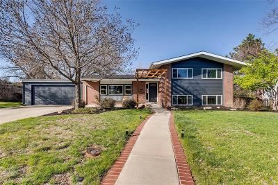 Denver Single Family Home Active: 2480 South Jasmine Place