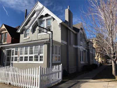 Denver Single Family Home Active: 2761 Welton Street