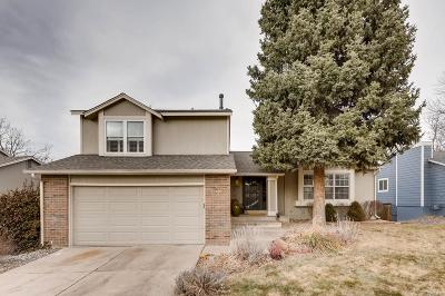 Centennial Single Family Home Under Contract: 7885 East Kettle Avenue