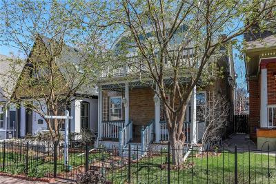 Denver Single Family Home Under Contract: 1538 North Gilpin Street