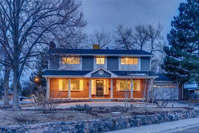 Denver Single Family Home Active: 2610 South Zurich Court