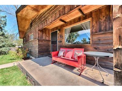 Denver Single Family Home Active: 4350 Zenobia Street