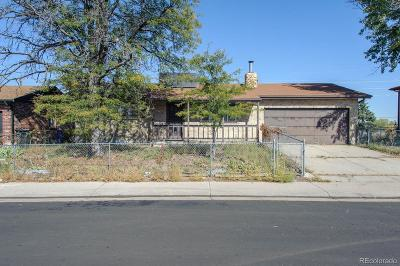 Denver Single Family Home Active: 15031 Randolph Place