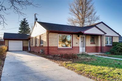 Arvada Single Family Home Active: 5555 Cody Court