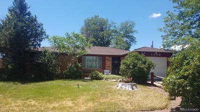 Broomfield Single Family Home Under Contract: 1250 West 1st Avenue