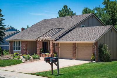 Centennial CO Single Family Home Under Contract: $680,000
