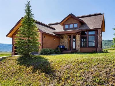 Routt County Single Family Home Active: 101 Oak Ridge Circle