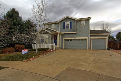 Erie Single Family Home Under Contract: 86 Bonanza Drive