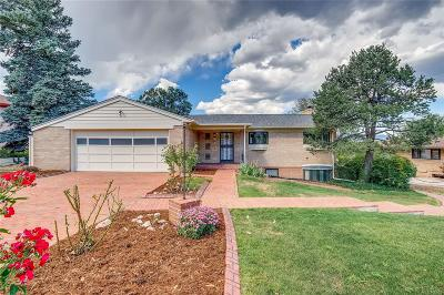 Wheat Ridge Single Family Home Active: 39 Hillside Drive