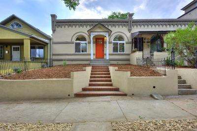 Denver Condo/Townhouse Under Contract: 3539 Mariposa Street