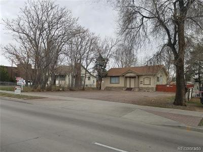 Denver Single Family Home Active: 1600 South Federal Boulevard