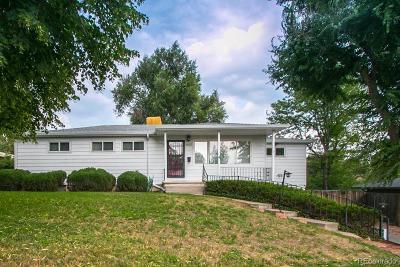 Littleton Single Family Home Under Contract: 5422 South Cedar Street