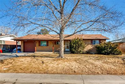 Denver Single Family Home Active: 8346 Katherine Way