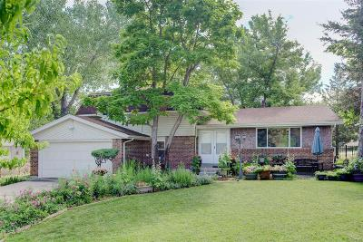 Centennial Single Family Home Under Contract: 6246 South Clermont Court