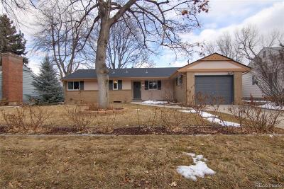 Denver Single Family Home Active: 1840 South Kearney Street