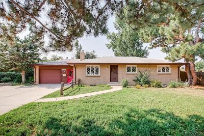 Centennial Single Family Home Under Contract: 6509 South Kit Carson Street