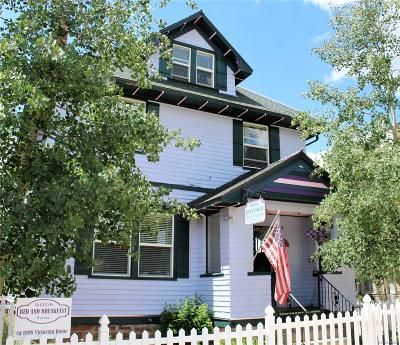 Leadville Single Family Home Under Contract: 809 Spruce Street