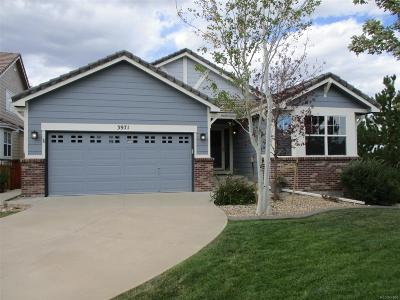 Douglas County Single Family Home Under Contract: 3971 Kestrel Court