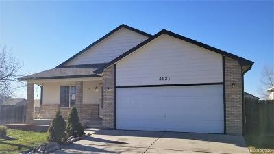 Evans Single Family Home Active: 3621 Cactus Avenue