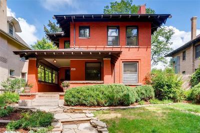 Congress Park Single Family Home Active: 1240 Detroit Street