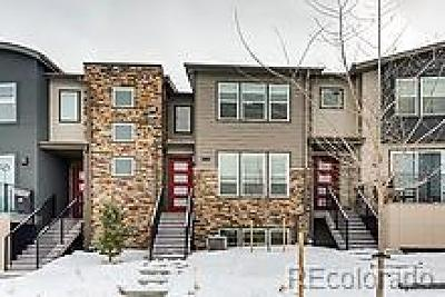 Castle Rock CO Condo/Townhouse Under Contract: $389,000