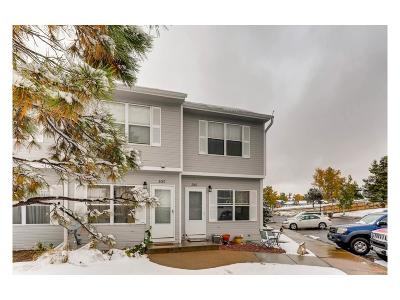 Castle Rock CO Condo/Townhouse Under Contract: $195,000