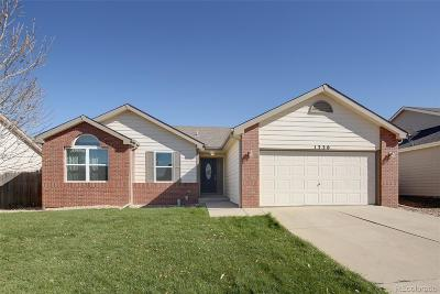 Milliken Single Family Home Under Contract: 1320 South Dawn Drive