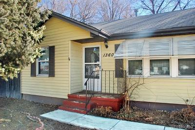 Lakewood Single Family Home Active: 1360 Saulsbury Street