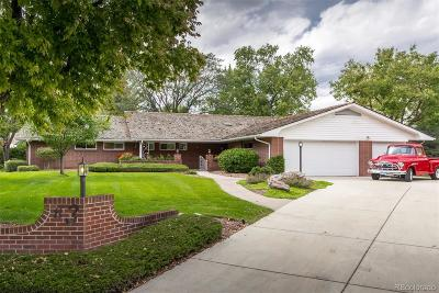 Littleton Single Family Home Active: 3 Brassie Way